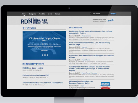 New project: 'Repairer Driven News' app & website-1